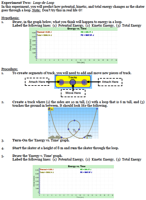100+ [ Kinetic Vs Potential Energy Worksheet ...