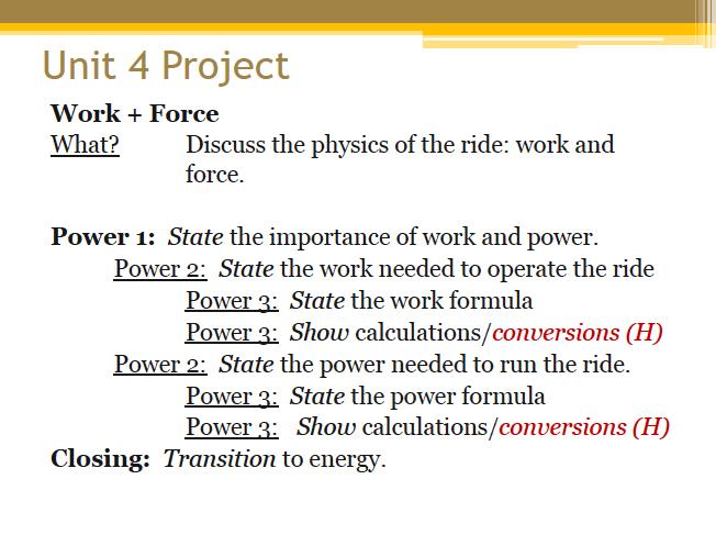 essay power